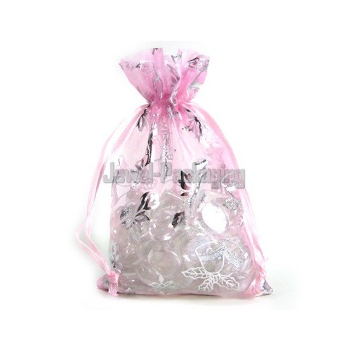 Wedding Gift Bag Price : Details about 50 Pink Christmas Wedding Favour Pouches Gift Bag 6X9